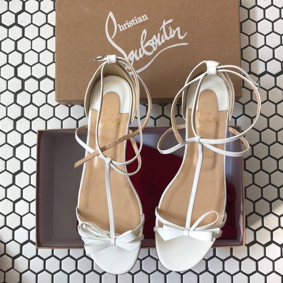 99c7b3c31b6a Christian Louboutin blakissima flat patent shoe NWT